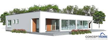 Affordable Home Plans  March Contemporary Economical House Plan