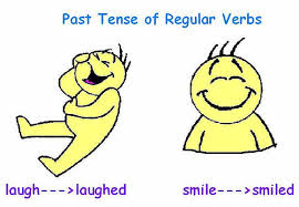 Image result for past of regular verbs