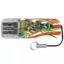 <b>Флеш диск Verbatim 16Gb Mini</b> Tattoo Dragon 49888 USB2.0 White ...