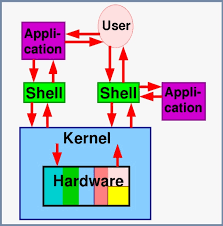 What is a command shell in Linux