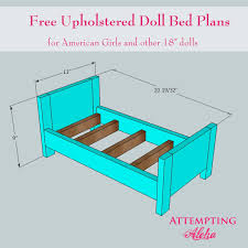 Woodwork Doll Bed Plans American Girl PDF Plansdoll bed plans american girl