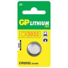 <b>Батарейка GP Lithium</b>, <b>CR2032</b>, литиевая, 1 шт., в блистере