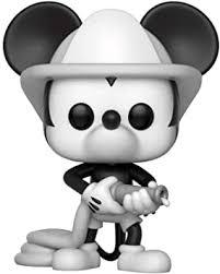 <b>Funko 32185 POP Vinyl</b>: Disney 90th Anniversary: <b>Firefighter Mickey</b> ...