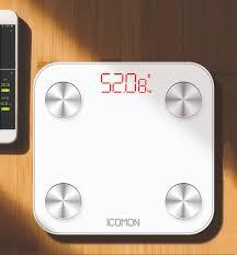 <b>iCOMON</b> Digital <b>Body</b> Scale Floor Electronic Smart Bathroom ...