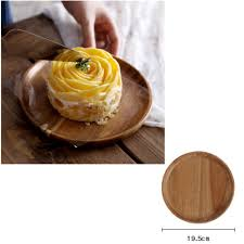 natural wood serving tray tea food server dishes platter round natural wood serving tray tea food server dishes