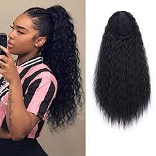 AISI <b>BEAUTY Long Curly</b> Drawstring Ponytail for <b>Women</b> 22 inch ...