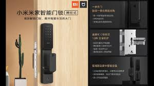 <b>Xiaomi Mijia</b> Mi push pull <b>smart door</b> lock - YouTube