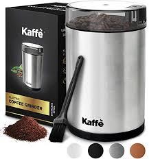 Kaffe KF2020 Electric Coffee Grinder - Stainless Steel ... - Amazon.com