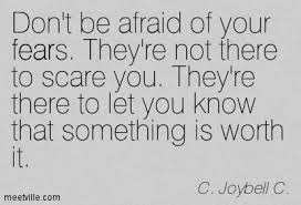 Fear Quotes & Sayings, Pictures and Images via Relatably.com