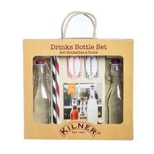 Купить Подарочный <b>набор из 2 бутылок</b> и трубочек, Kilner (арт ...