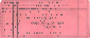 Image result for old computer programming cards
