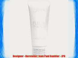 <b>Jean Paul Gaultier Fleur</b> du Male Soothing After Shave Balm 100ml ...