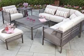 chic pink woodard patio furniture