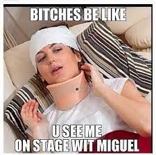 Mean - 10 Funny Miguel Leg Drop Memes   Complex UK via Relatably.com