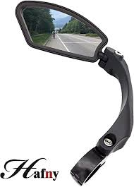 Hafny Handlebar <b>Bike Mirror</b>, <b>Stainless Steel Mirror</b>, Safe Rearview