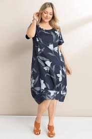 Sara <b>Linen Floral</b> Dress Online | Shop EziBuy