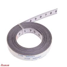<b>Miter Track Tape</b> Measure <b>Self</b> Adhesive Metric Steel Ruler Miter ...