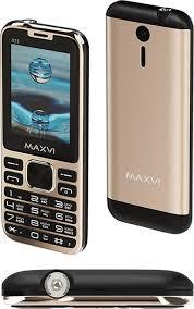 Мобильный <b>телефон MAXVI X11</b> Metallic gold — купить в ...