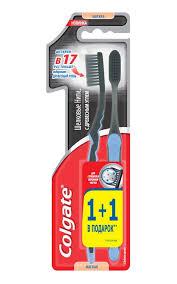 <b>Зубная щетка</b> COLGATE Шелковые нити с <b>древесным</b> углем ...