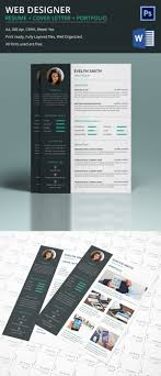 web designer resume cover letter portfolio for web designer resume cover letter portfolio for fresher experienced