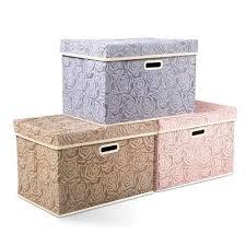 Home <b>Storage</b> Solutions 2PCS Foldable <b>Storage Box</b> Cover ...