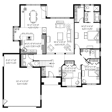 Chalet Floor House Plans Square Feet Home Designs