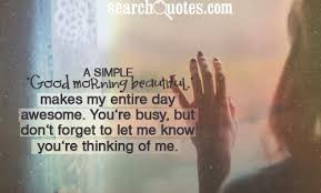 Good Morning Beautiful Girls Quotes via Relatably.com