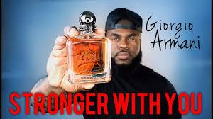 <b>Giorgio Armani Stronger with</b> You Fragrance Review | Emporio ...