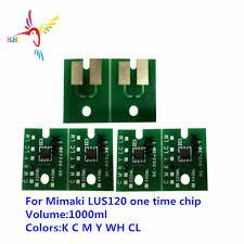 LUS120 One time chip For <b>Mimaki</b> JFX200 2513 EX <b>JFX200 2531</b> ...
