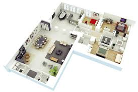 25 more 3 bedroom 3d floor plans architecture design 5 expansive three architectural designer awesome 3d floor plan free home design