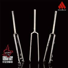 <b>Universal Mountain Bike</b> Hard Fork Fork CR4130 Chrome
