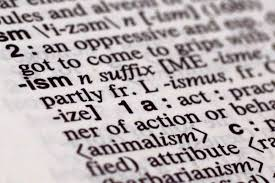 merriam webster declares ism as word of the year for wjla the suffix ism is photographed in merriam webster s collegiate dictionary in new