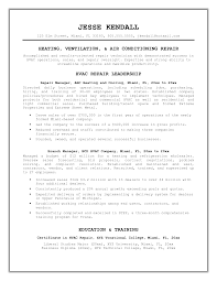 hvac service technician resumes template hvac service technician resumes