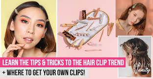 <b>Korean hair clip</b> trend: We think EVERYONE should get on board ...