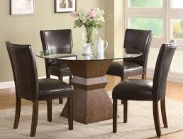 Fun Dining Room Chairs Amazing Dining Room Glass Tables And Chairs L23 Dlsilicom