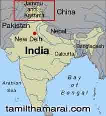 காஷ்மீர்  பாரத நாட்டின் மணிமகுடம்