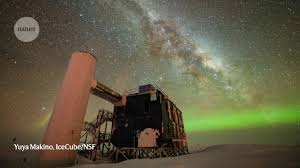 Giant <b>ice cube</b> hints at the existence of cosmic antineutrinos