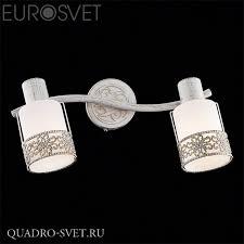 <b>Спот EUROSVET</b> 20025, 20026 <b>20025/2 белый</b> с золотом - купить ...