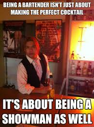 Classy Bartender memes | quickmeme via Relatably.com