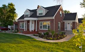 Dutch Colonial House Plans Traditional Red Brick Wall Interior        Our Homes Home Hinges Home Improvement Online Magazine Red Brick House Designs