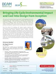 beam online training portal life cycle environmental impact assessment is acknowledged as the most comprehensive and robust method of assessing the environmental impact of buildings