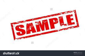 rubber stamp word sample inside vector stock vector  rubber stamp word sample inside vector illustration