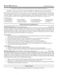 Budget Analyst Resume  resume budget skills budget analyst resume