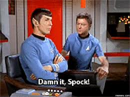 Image result for picture of spock and mccoy arguing