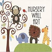 Flowers decal, Kids Wall Decals, Retro Nursery decor ... - Amazon.com
