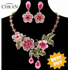 Chran <b>Wholesale Gold color</b> Cheap Price Pink and Blue Flower ...