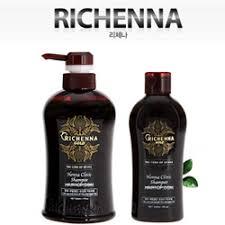 [Richenna] Gold Henna Clinic Shampoo 500ml+200ml ... - Qoo10