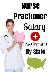 nurse practitioner salary by state 2017 nursejournal org nurse practitioner salary requirements by state