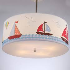 mediterranean cartoon boat children ceiling light cute boys room ceiling lamps baby room ceiling lighting fixture baby bedroom ceiling lights