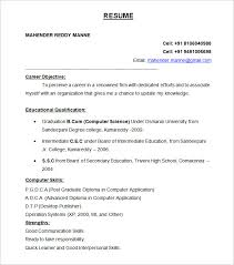 best resume formats –    free samples  examples  format download    btech freshers resume format template